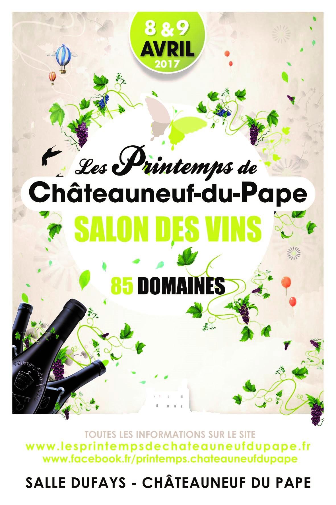 Les printemps de ch teauneuf du p pe 2017 vinogusto - Guide du papa ...