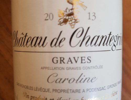 Château de Chantegrive Caroline 2013 – Graves