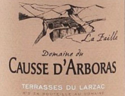 Domaine du Causse d'Arboras – La Faille 2012 – Terrasses du Larzac