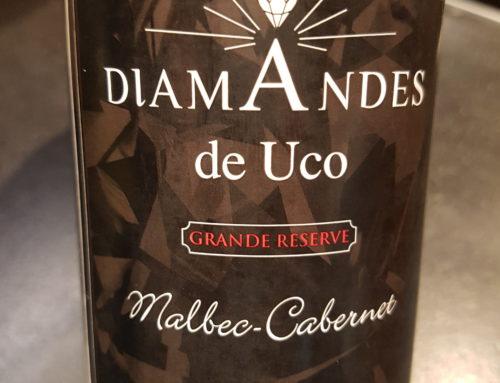 Diamandes Grande Reserve Malbec Cabernet 2009 – Mendoza – Argentine