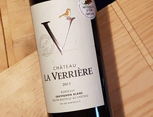 Château La Verrière 2015 – Bordeaux Blanc
