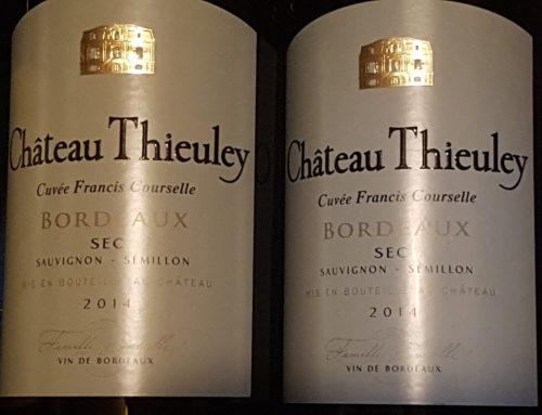 Château Thieuley – Cuvée Francis Courselle 2014 – Bordeaux Blanc