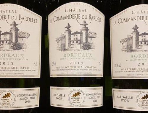 Château La Commanderie du Bardelet 2015 – Bordeaux Blanc