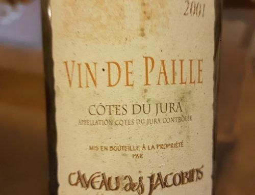 Caveau des Jacobins – Cotes du Jura – Vin de Paille 2001