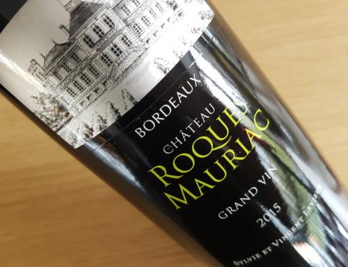 Château Roques Mauriac Grand Vin 2015 – Bordeaux Supérieur