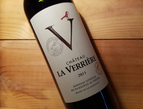 Château La Verrière 2015 – Bordeaux Supérieur