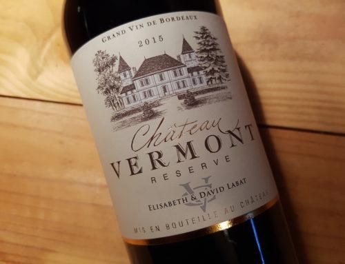 Château Vermont Réserve 2015 – Bordeaux Supérieur