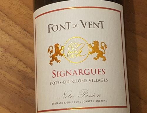 Font du Vent Notre Passion Côtes-du-Rhône-Villages Synargues 2015