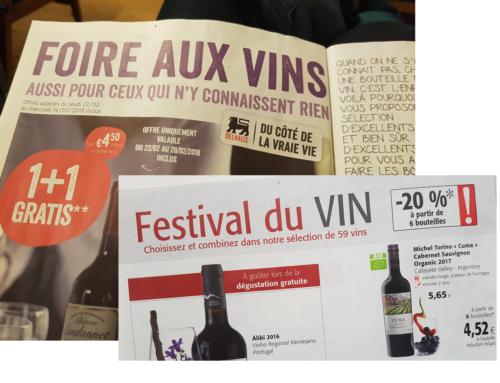 Les foires aux vins de printemps 2018 en Belgique