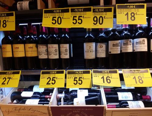 Bordeaux à saisir au Carrefour Market de Woluwé-Saint-Pierre