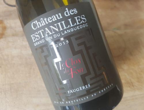 Château des Estanilles Le Clos du Fou 2015 – Faugères