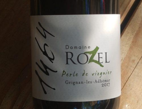 Domaine Rozel – Perle de Viognier 2017