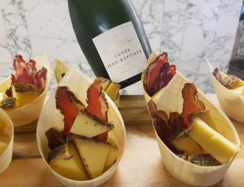 Fromage et champagne : un couple joyeux par Saint Octave et C. de Champagne
