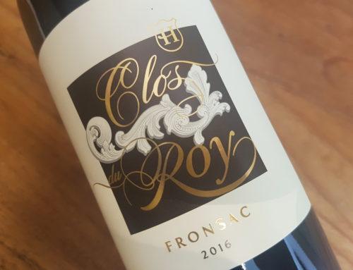 Clos du Roy 2016 – Fronsac