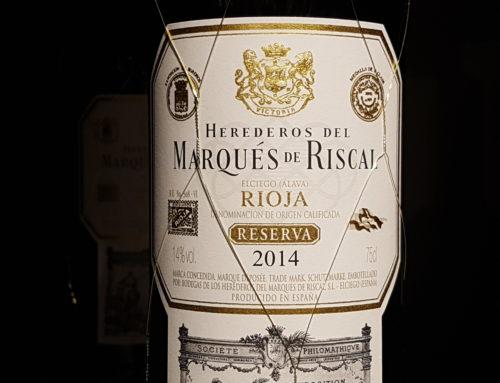 Herederos del Marqués de Riscal Reserva 2014 – Rioja