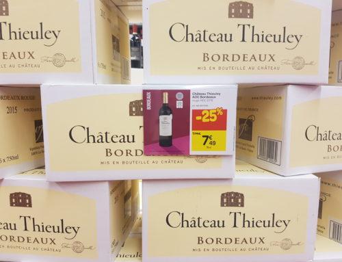 Bordeaux 2015 en foire aux vins : Carrefour versus Cora