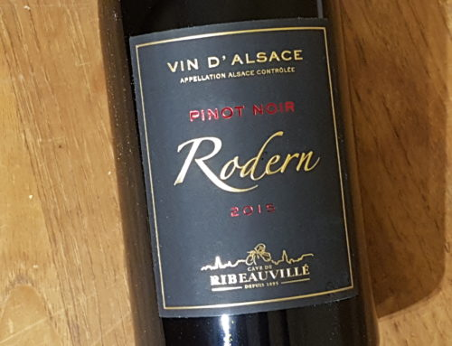 Cave de Ribeauvillé Pinot Noir Rodern Grande Cuvée 2015 – Alsace
