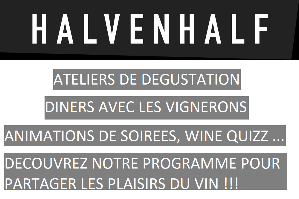 Dégustations de vins, soirées oenologiques, ateliers, diners vignerons