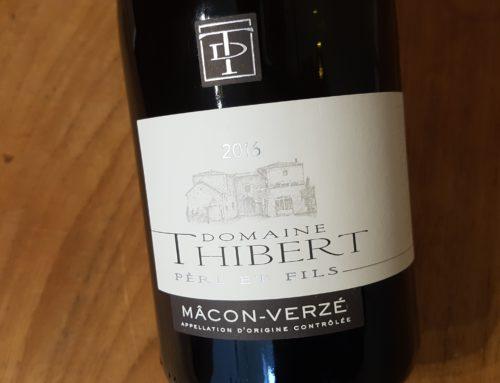 Domaine Thibert Mâcon-Verzé 2016 – Mâcon