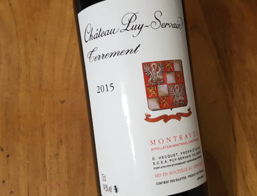 Château Puy-Servais Terrement 2015 – Montravel