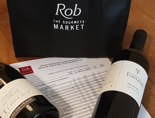Rob The Cellar et les 35 Coups de Coeur du Guide Hachette des Vins 2019