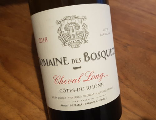 Domaine des Bosquets Cheval Long 2018 – Côtes du Rhône Blanc