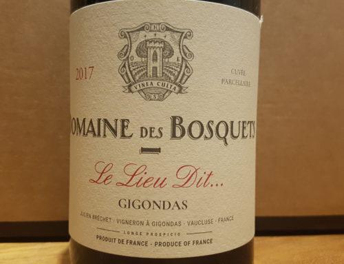 Domaine des Bosquets Le Lieu Dit … 2017 – Gigondas Rouge
