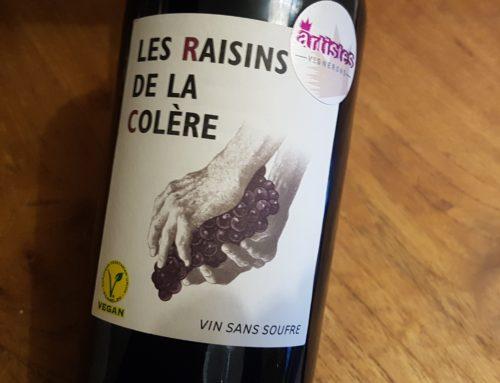 Les Raisins de la Colère 2018 | Vin de France
