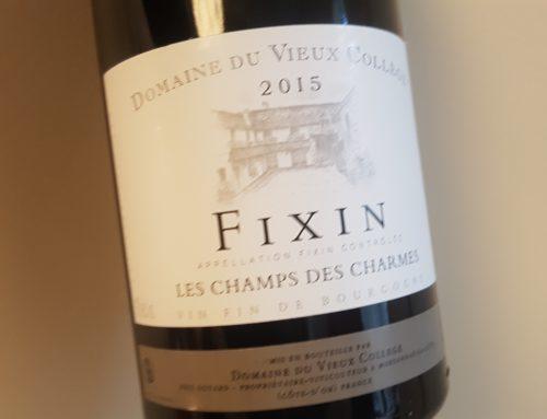 Domaine du Vieux Collège Fixin Les Champs des Charmes 2015 – Bourgogne