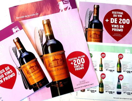 200 vins en promo pour la foire aux vins de printemps de Delhaize
