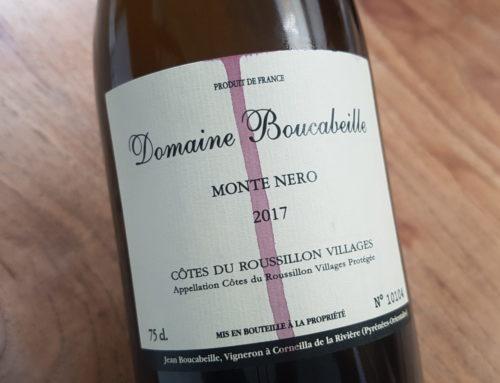 Domaine Boucabeille Monte Nero 2018 | Côtes du Roussillon