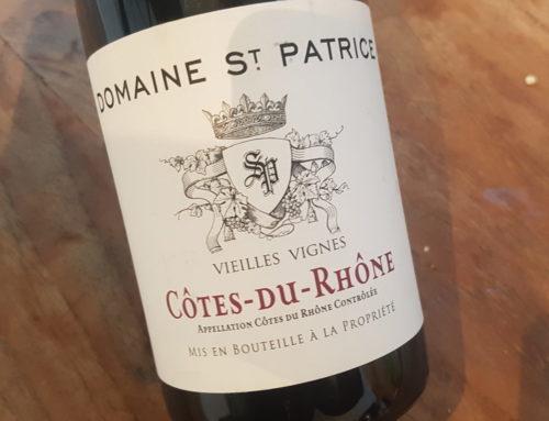 Domaine Saint-Patrice Côtes du Rhône Vieilles Vignes 2016 | Rhône