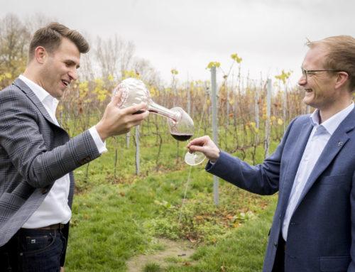 Benoît Coudéré et Dries Corneillie lancent Santé Wines
