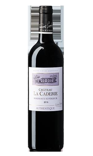Château La Caderie Authentique 2016 – Bordeaux Supérieur