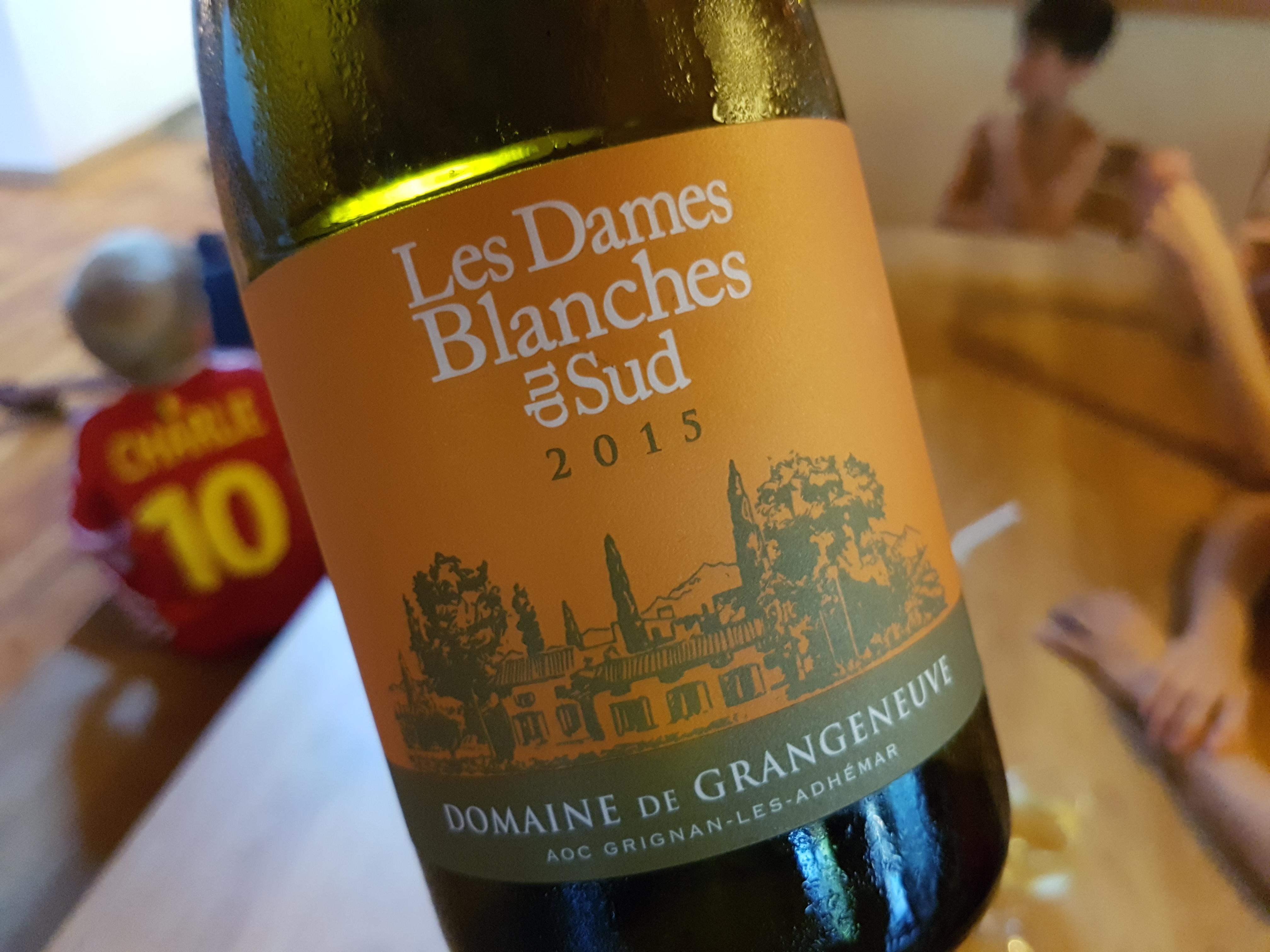 Domaine de Grangeneuve – Les Dames Blanches du Sud 2017