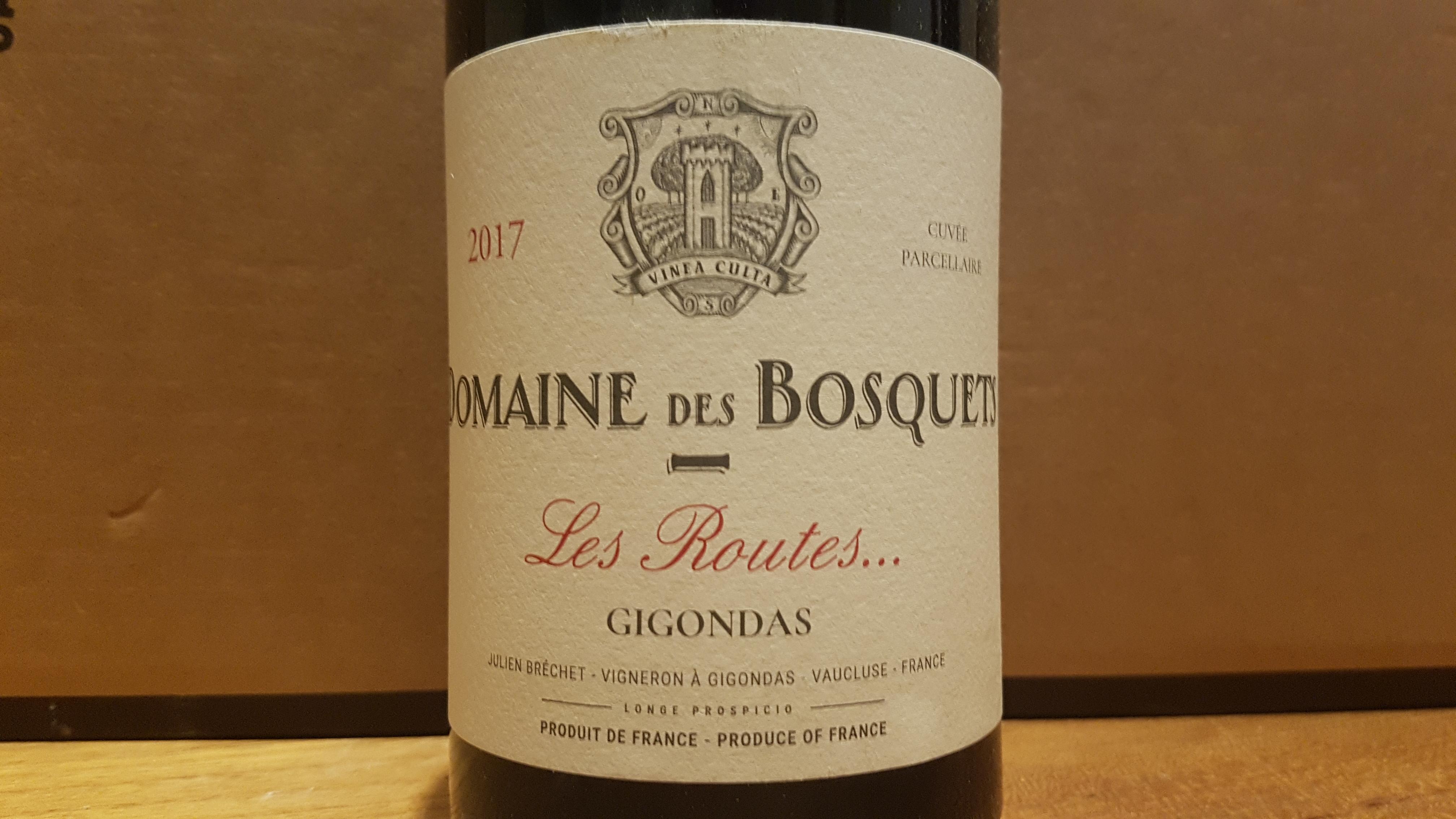 Domaine des Bosquets Les Routes … 2017 – Gigondas Rouge