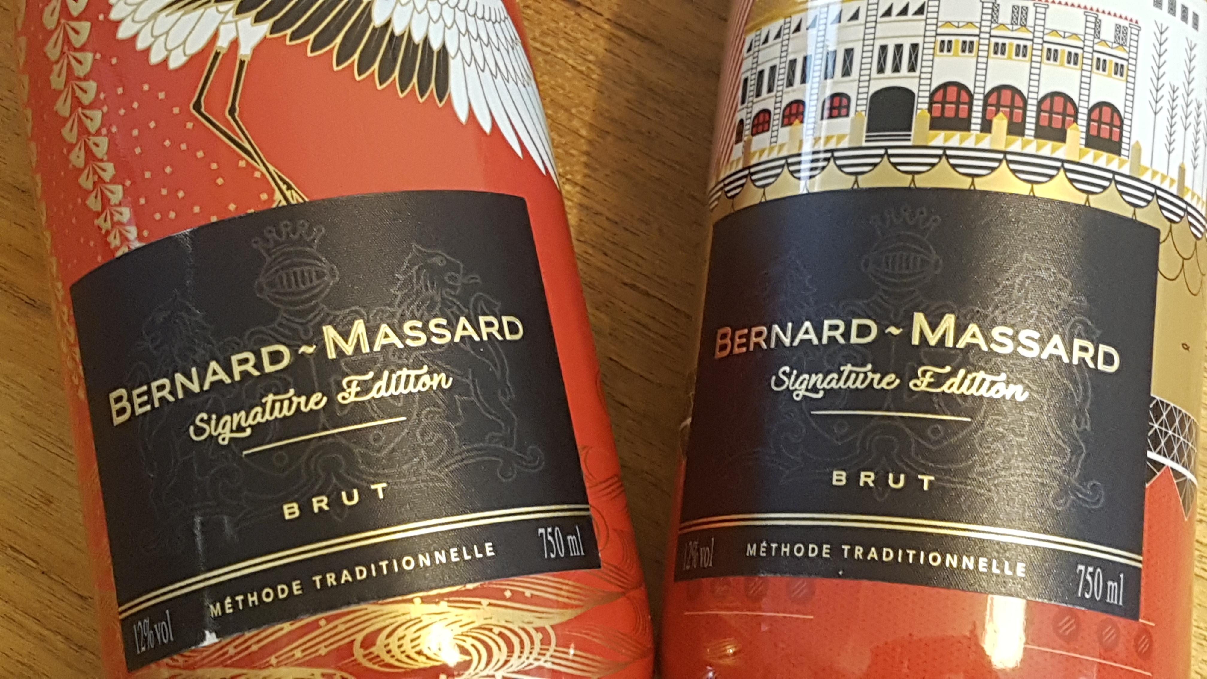 Une cuvée Bernard-Massard sous la griffe de 6 artistes internationaux