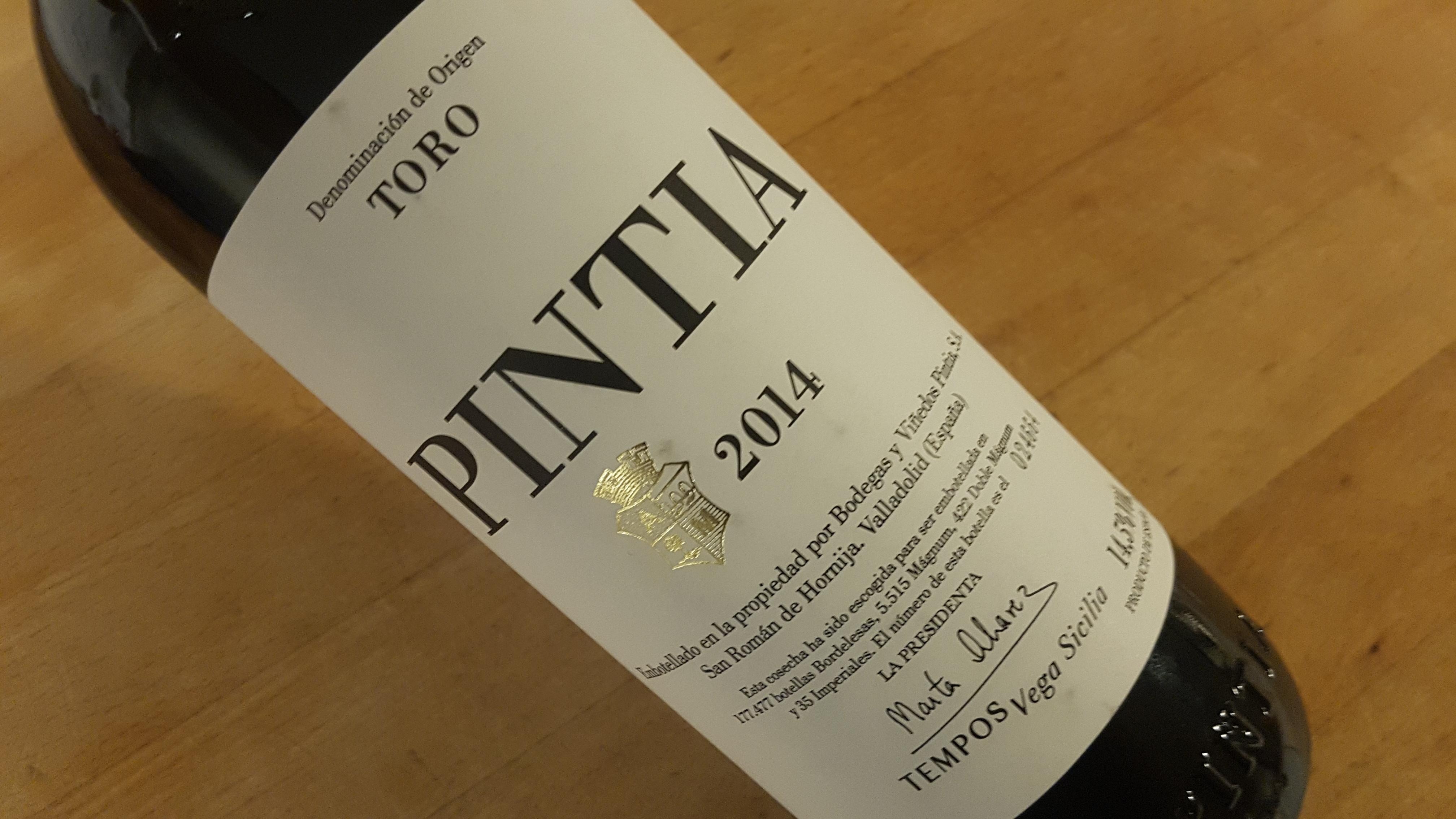 Pintia 2014 | Toro
