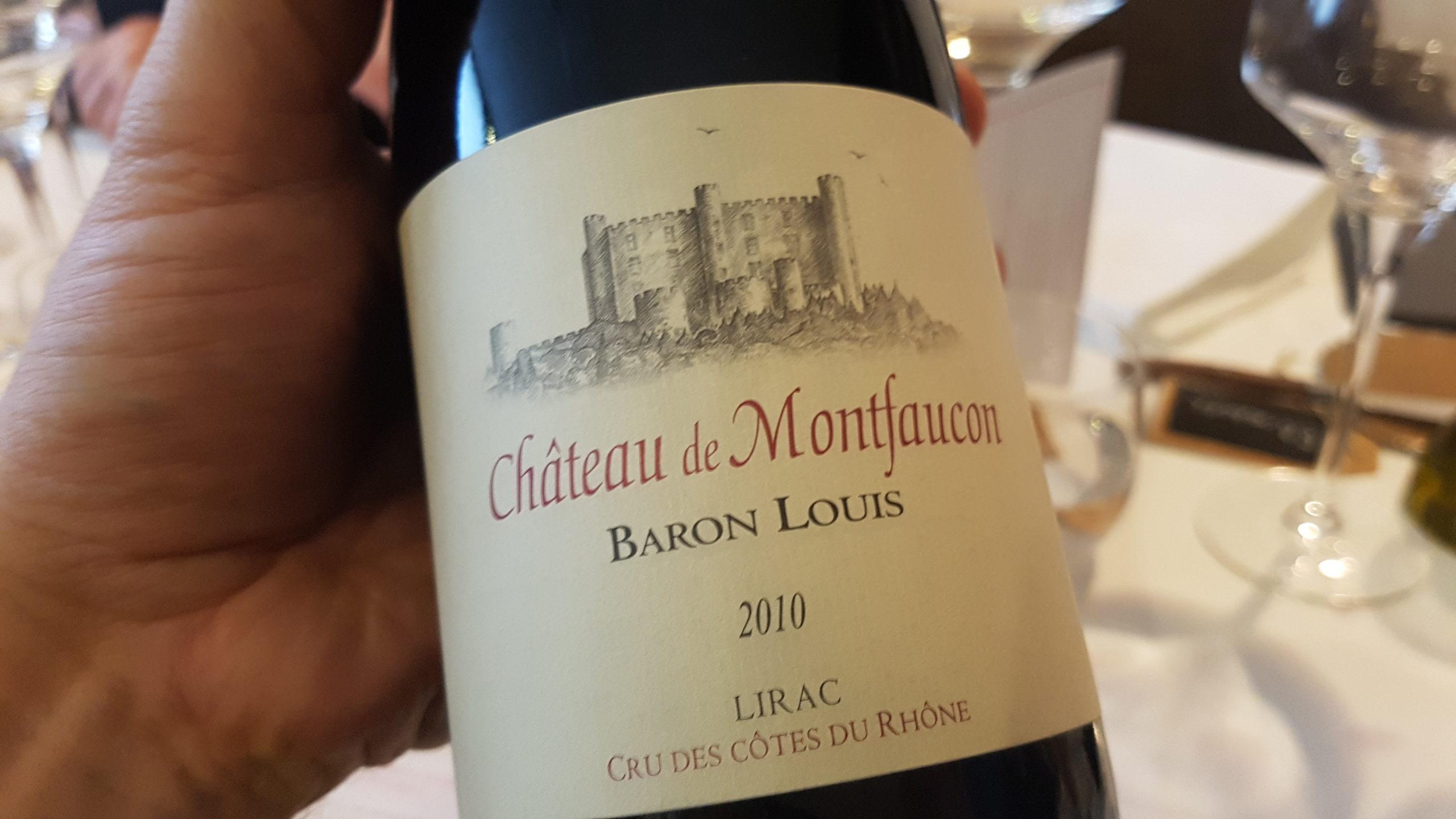 Château de Montfaucon Baron Louis 2010 – Lirac