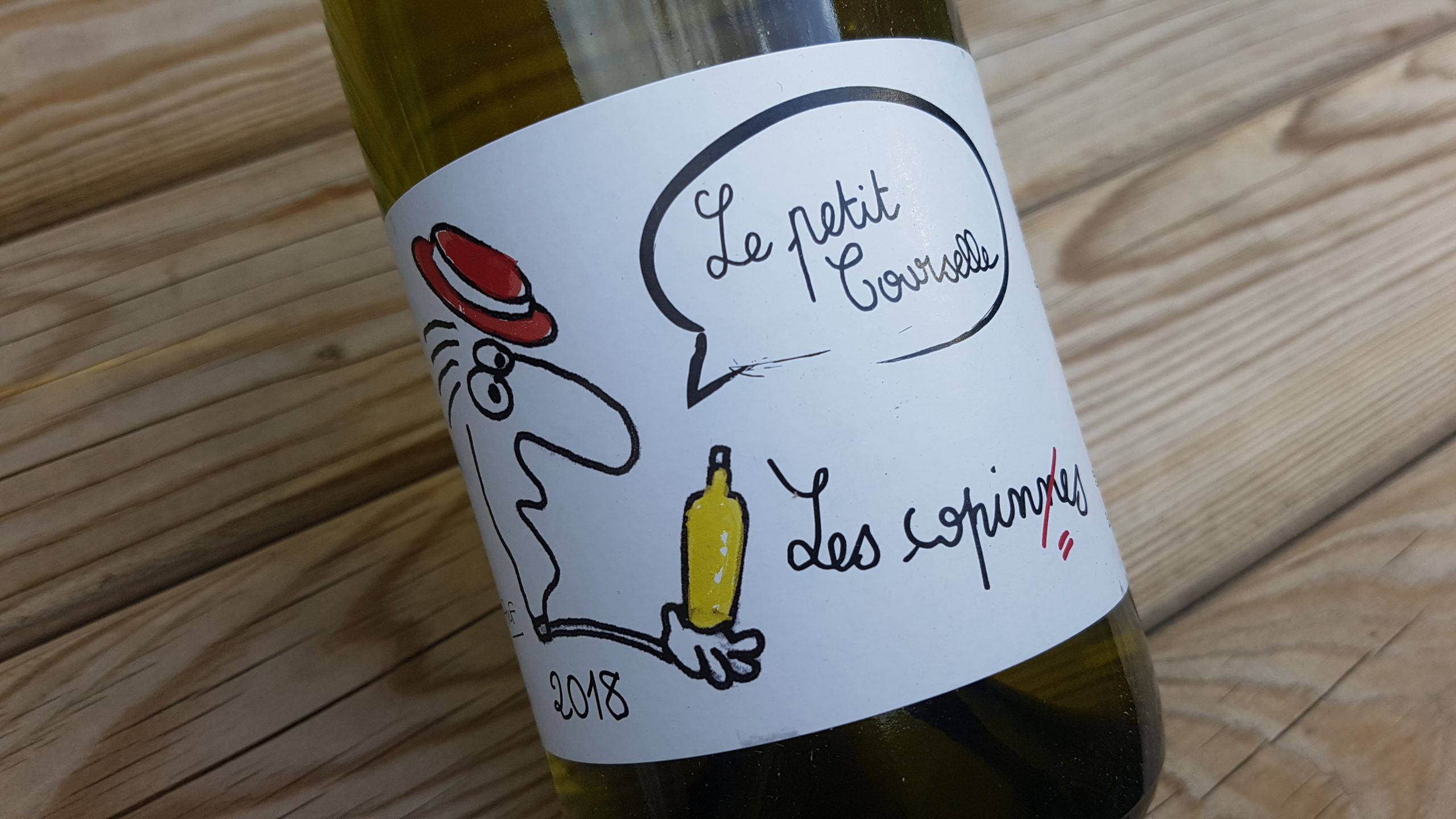 Le Petit Courselle Les copines 2018 | Vin de France