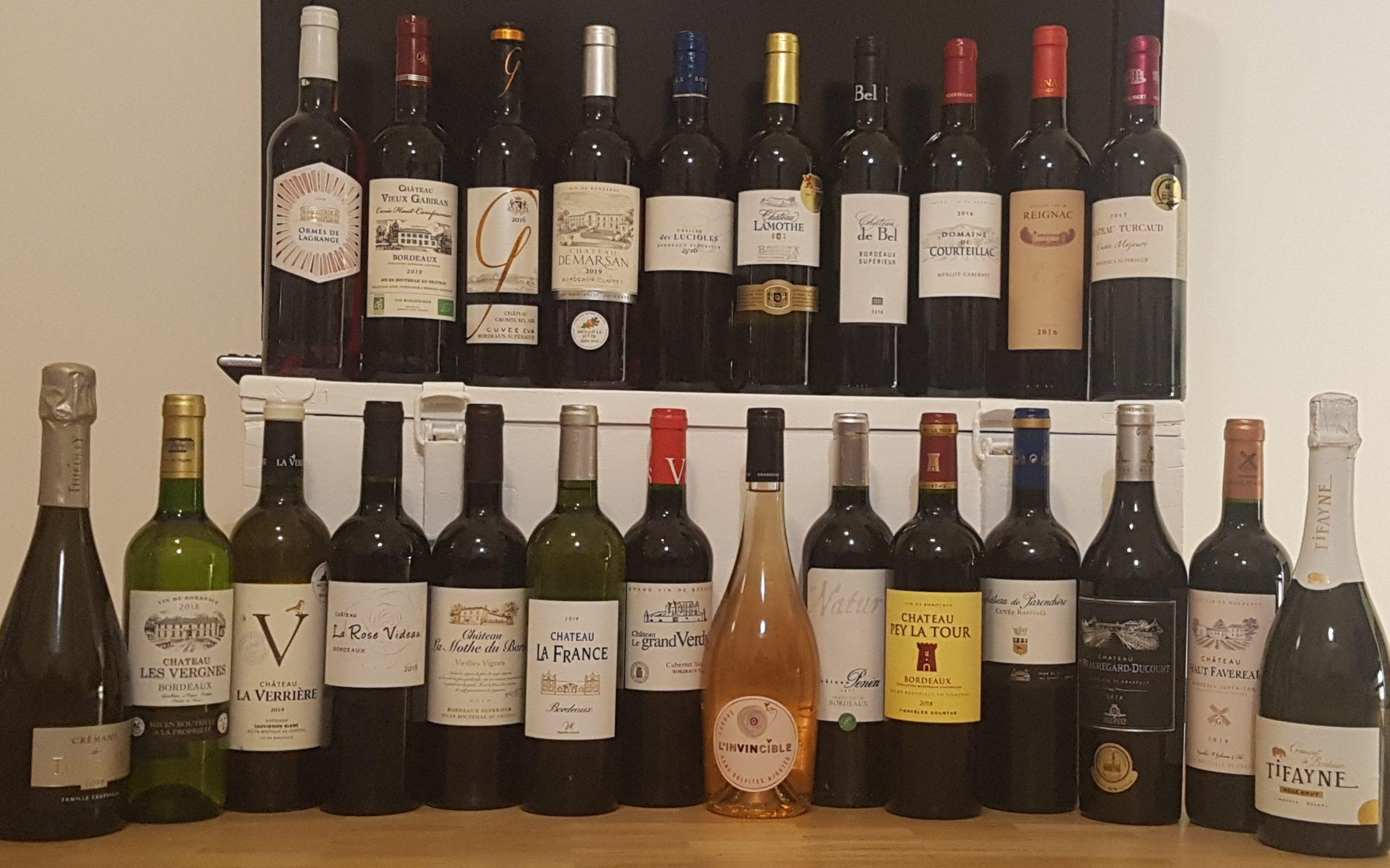 Bordeaux & Bordeaux Supérieur | 24 bouteilles pour un automne chaleureux
