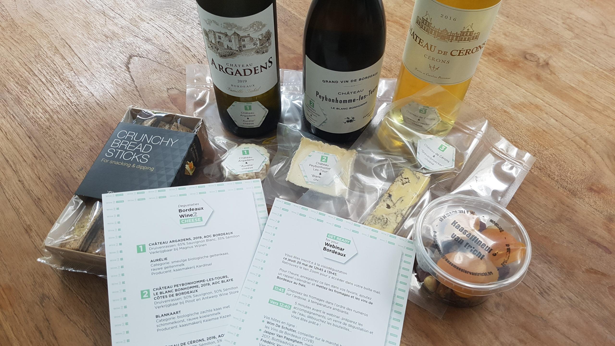 Fromages belges et Bordeaux blancs
